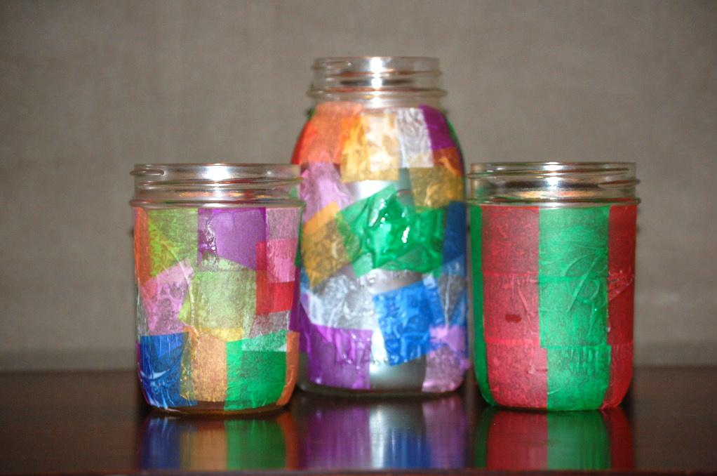 Homemade lanterns provident living farmstead for Homemade paper lanterns